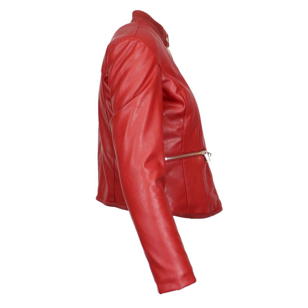 Leatherette biker jacket Ruby Twin-Set