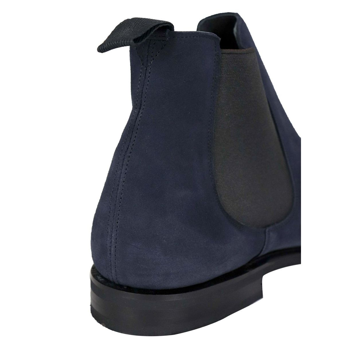 Prenton ankle boot in suede with elastic Navy Church's