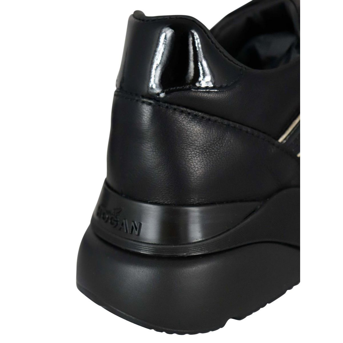 One Active sneakers in H385 leather Black Hogan