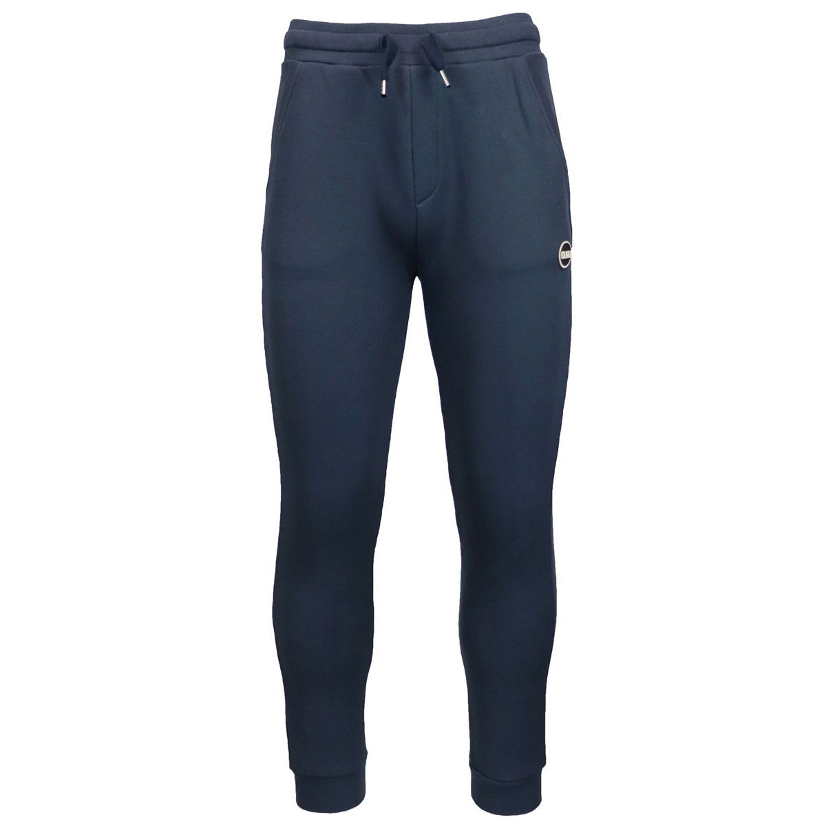 Sporty trousers with pockets and small logo Blue Colmar
