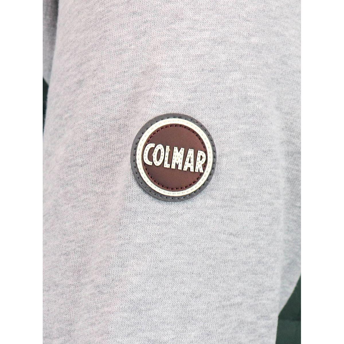 Sweatshirt in light wadding with ultrasound stitching Green Colmar