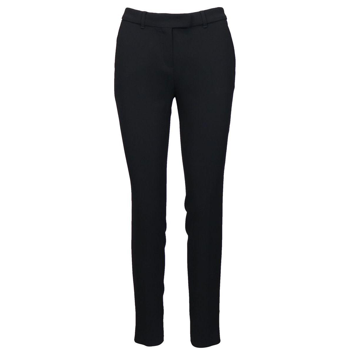 Slim crepe trousers Black Max Mara