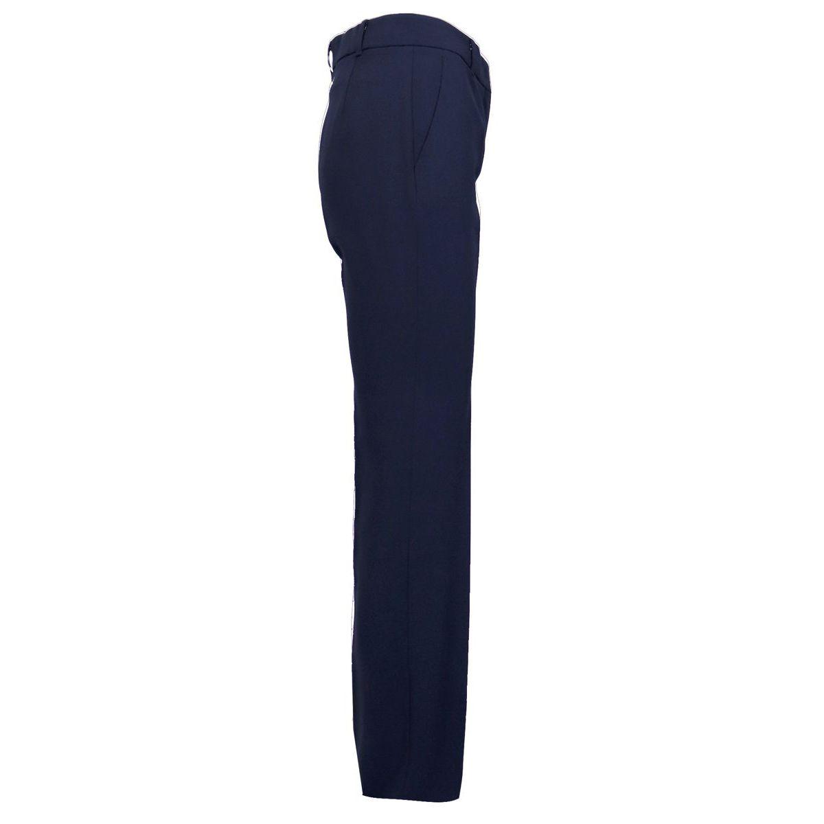 CELIA crepe tube trousers Blue Max Mara