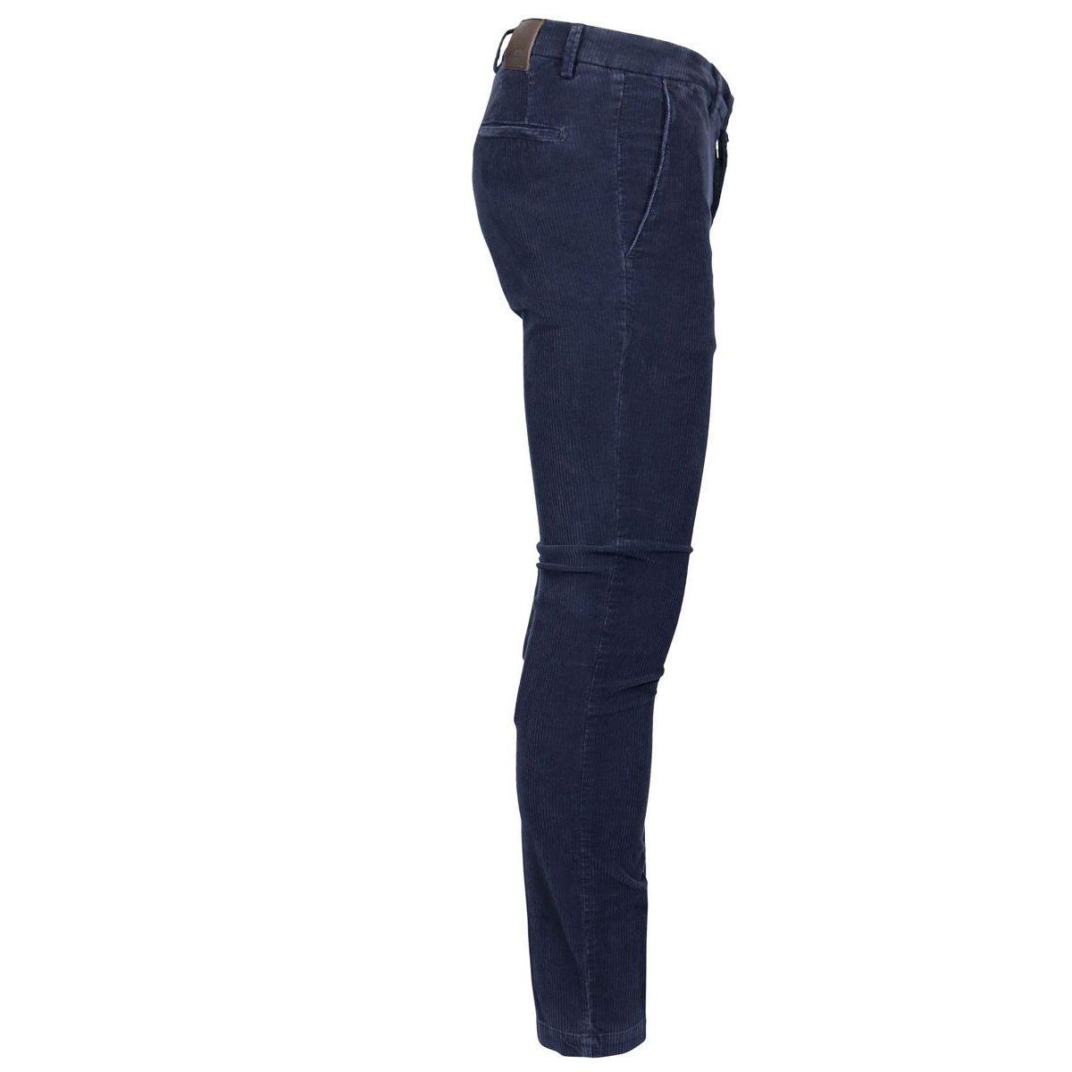 America pocket slim corduroy trousers Navy Briglia