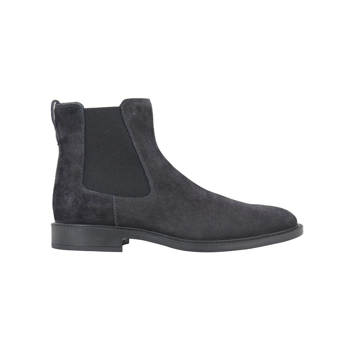 Ankle boot in stretch leather Hematite Tod's