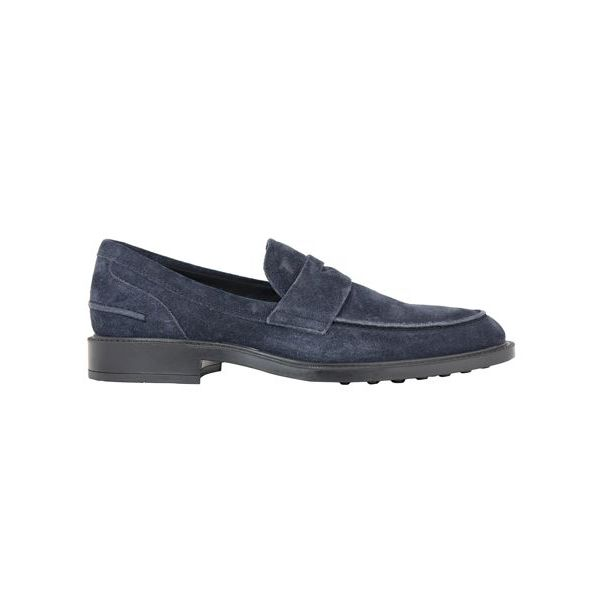 New rubber moccasin Blue Tod's