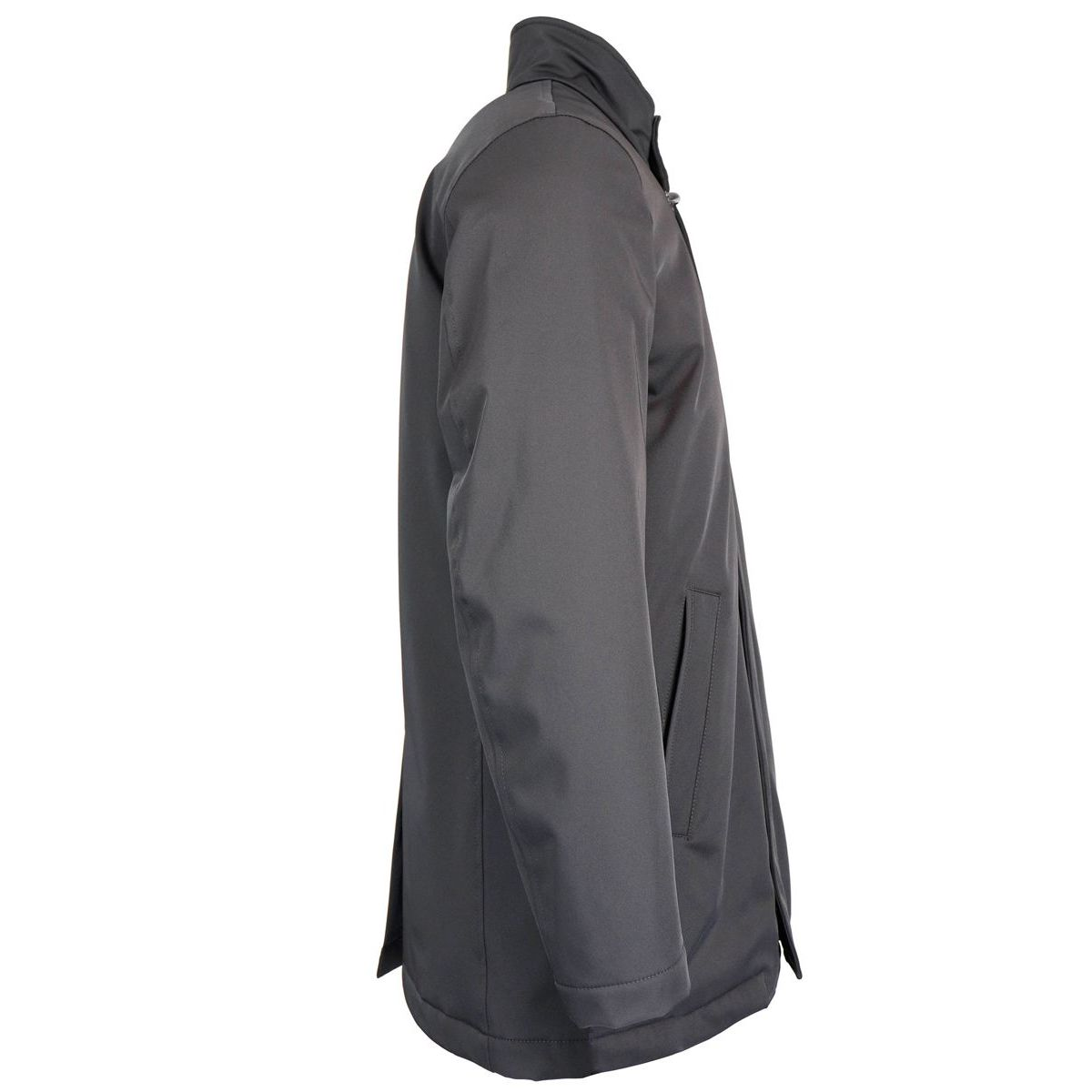 DETROIT TECNO PADDED waterproof jacket Black Fay
