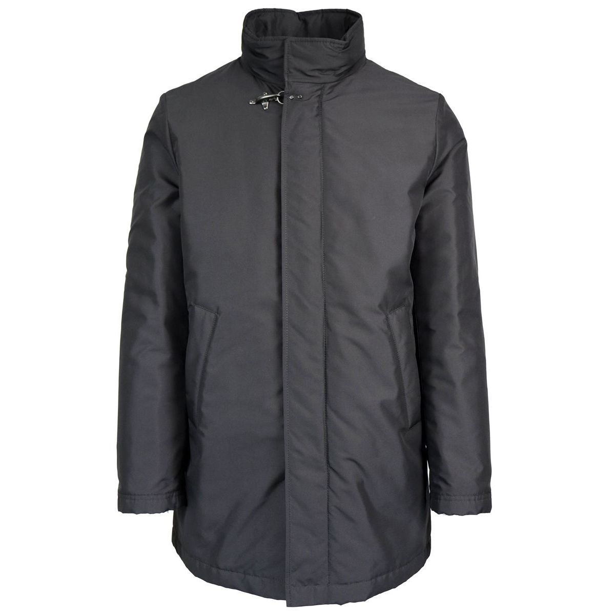 Redonyer jacket in waterproof nylon Black Fay
