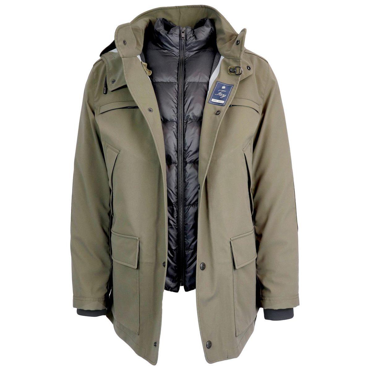 buy popular 7fb5b 76553 NEW GRAND STADIUM waterproof layered jacket