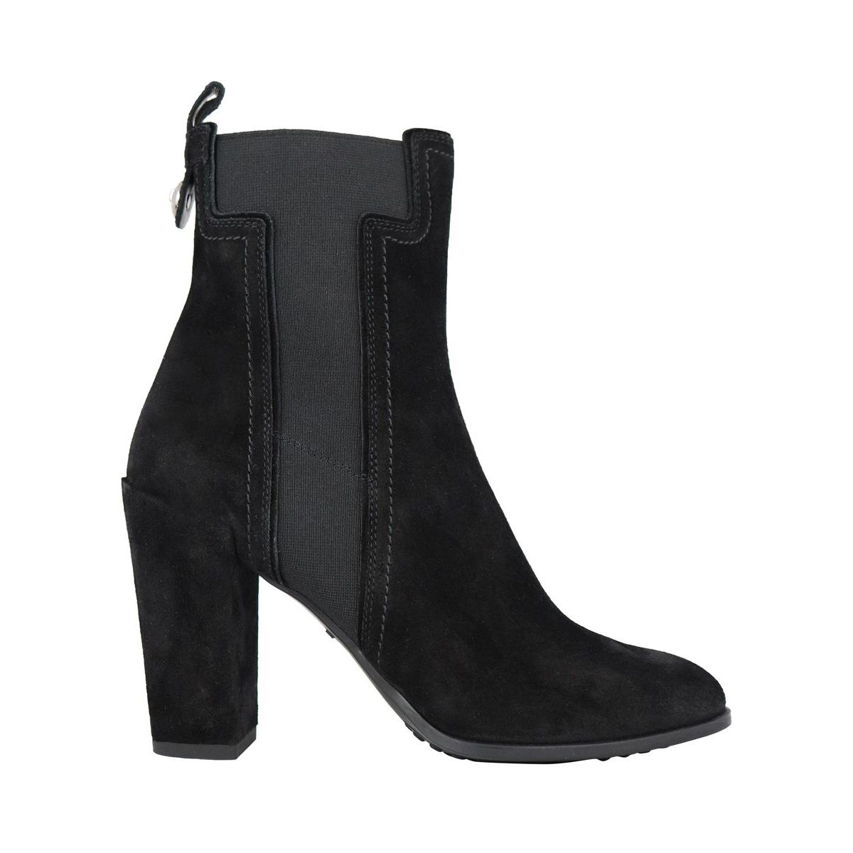 Suede ankle boots Black Tod's