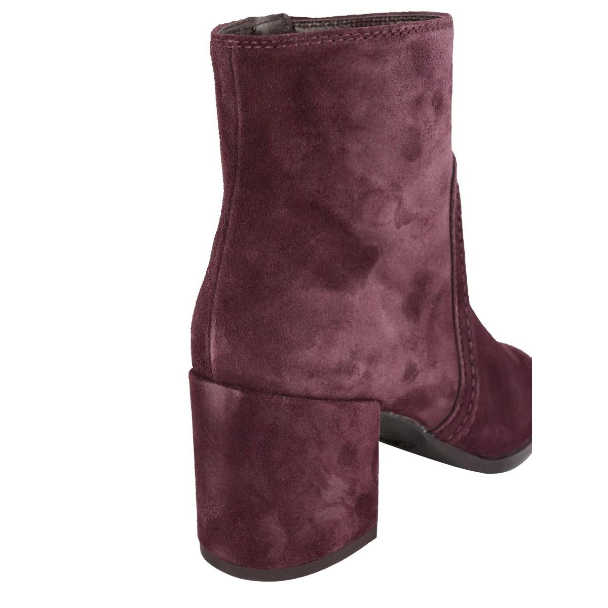 83B leather ankle boot Burgundy Tod's