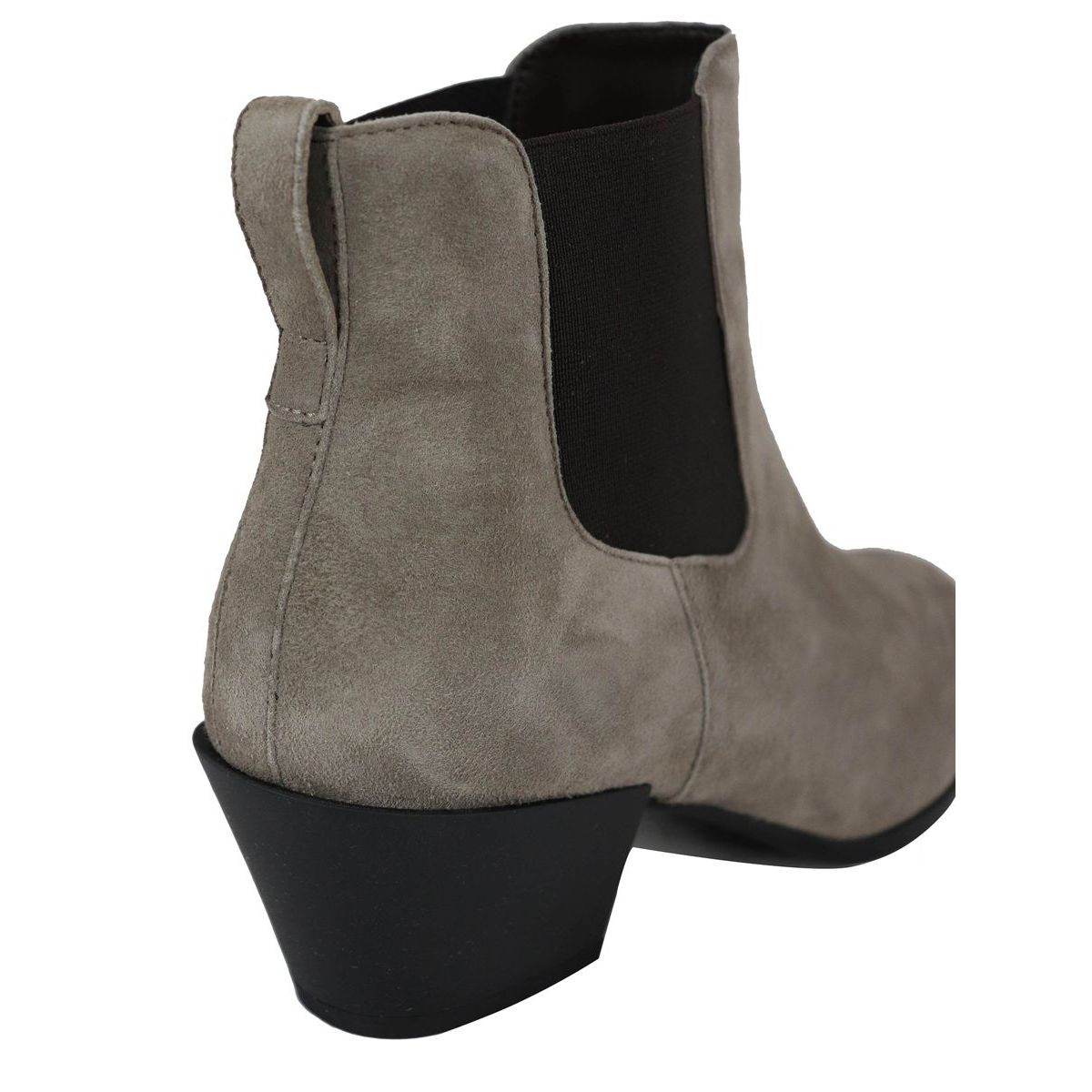 H501 CHELSEA ankle boots with Texan heel Tortora Hogan
