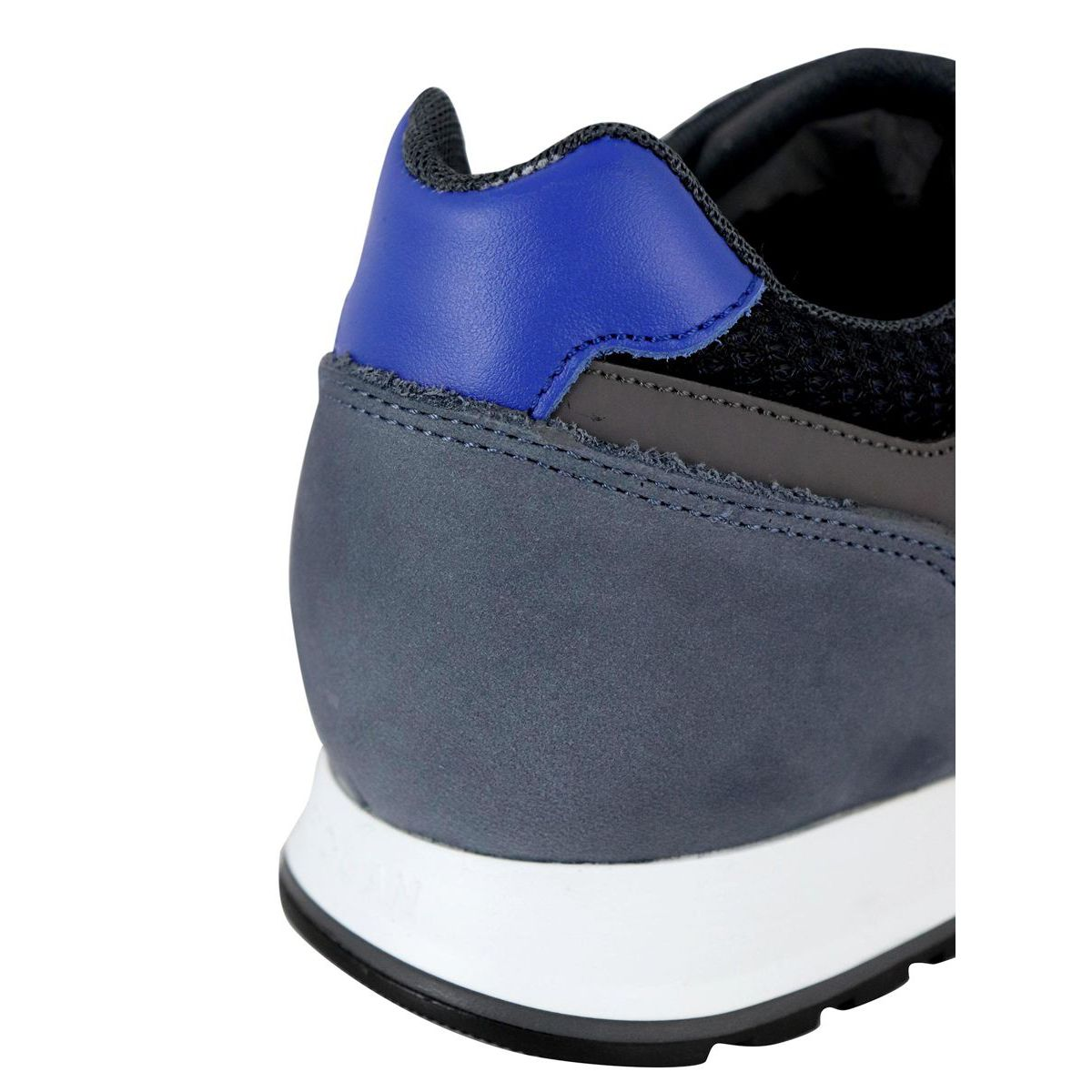 Sneakers in suede leather bottom 321 Blue Hogan