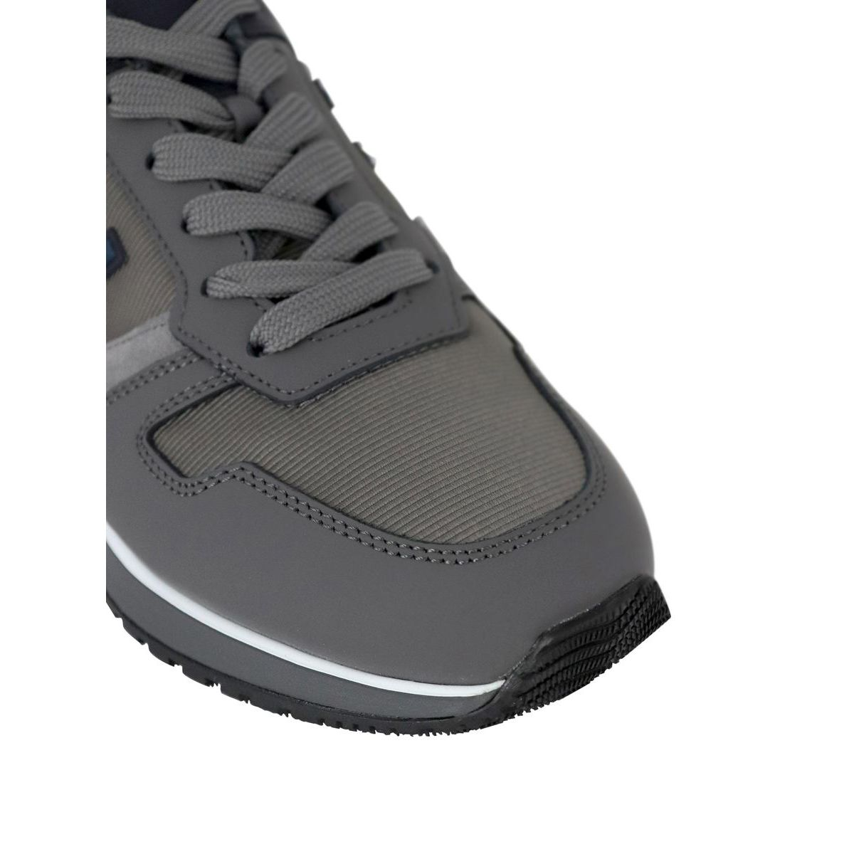 Sneakers in suede leather bottom 321 Grey Hogan