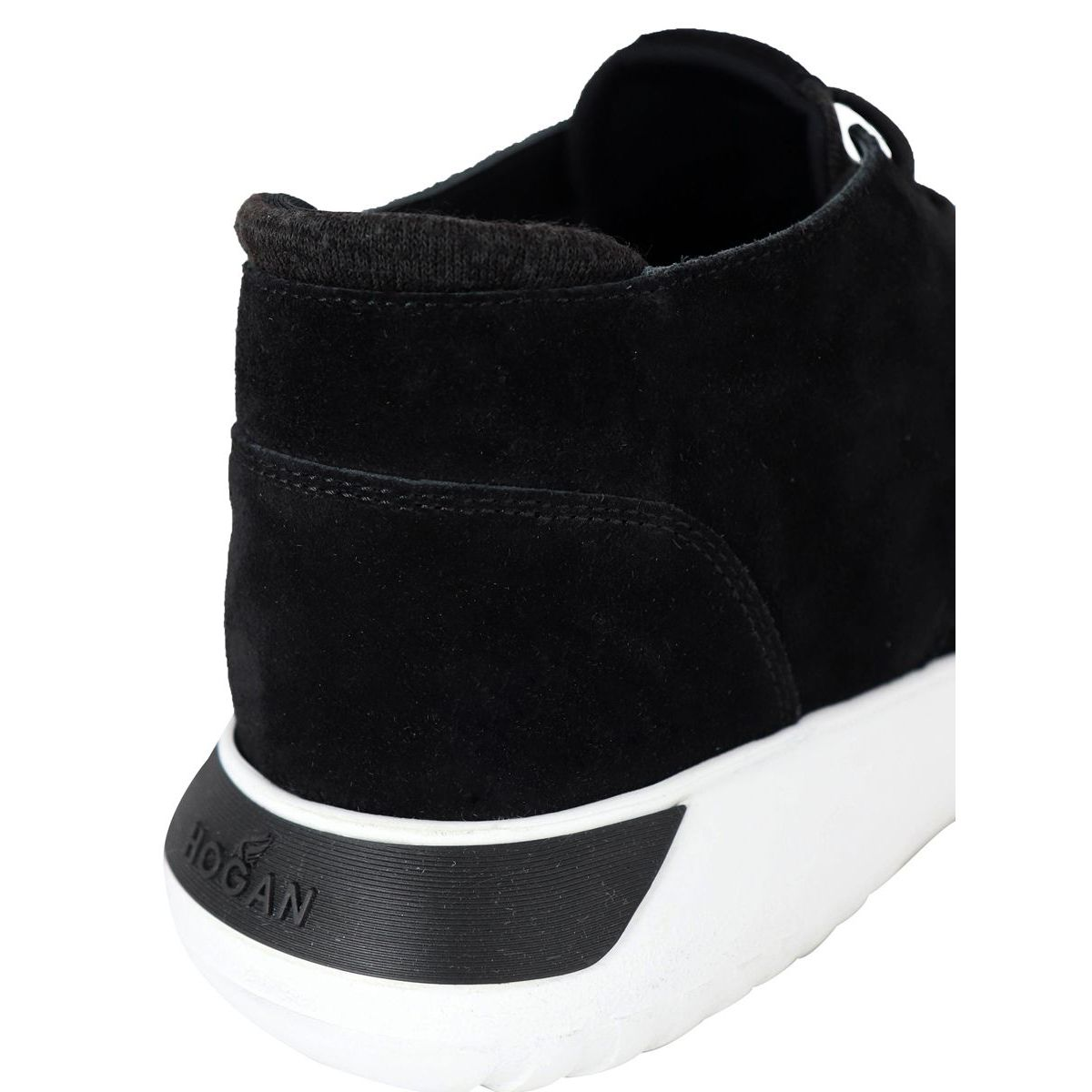 Interactive sneaker 371 DESERT BOOT Black Hogan