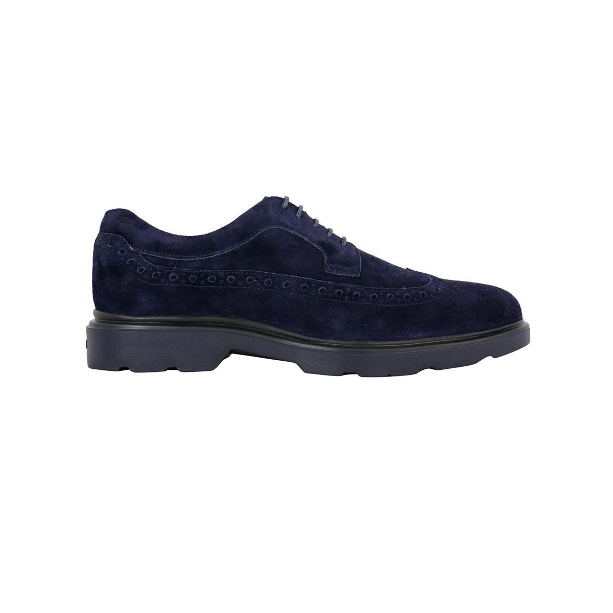 New Derby in suede bottom 393 Blue Hogan