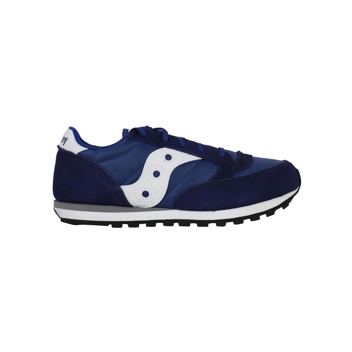 Jazz sneakers in suede and leather Blue Saucony