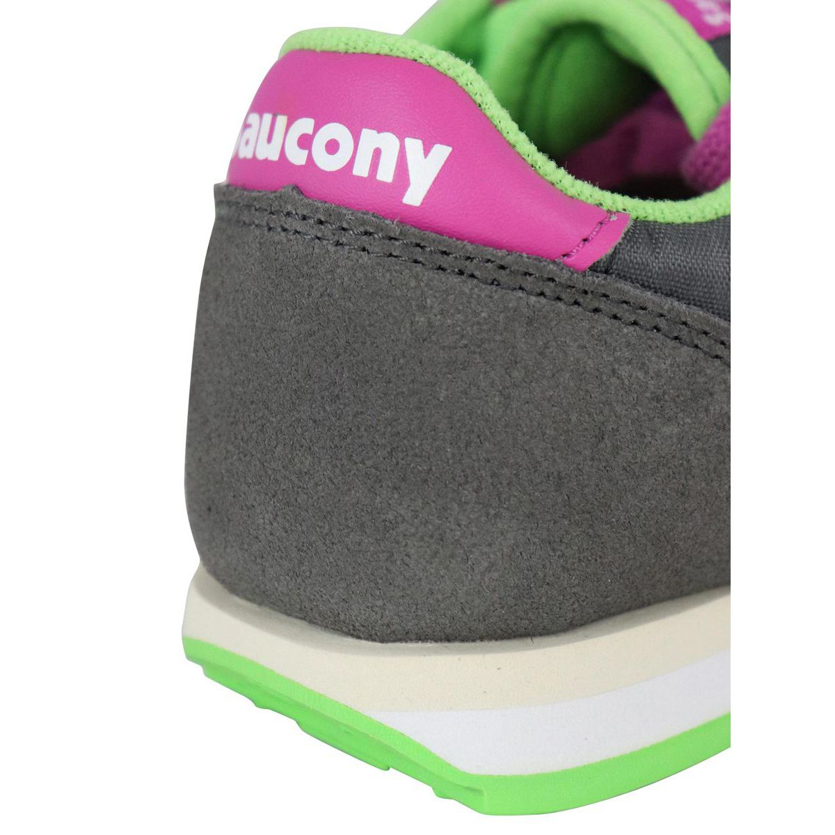Jazz suede sneakers Gray / pink Saucony
