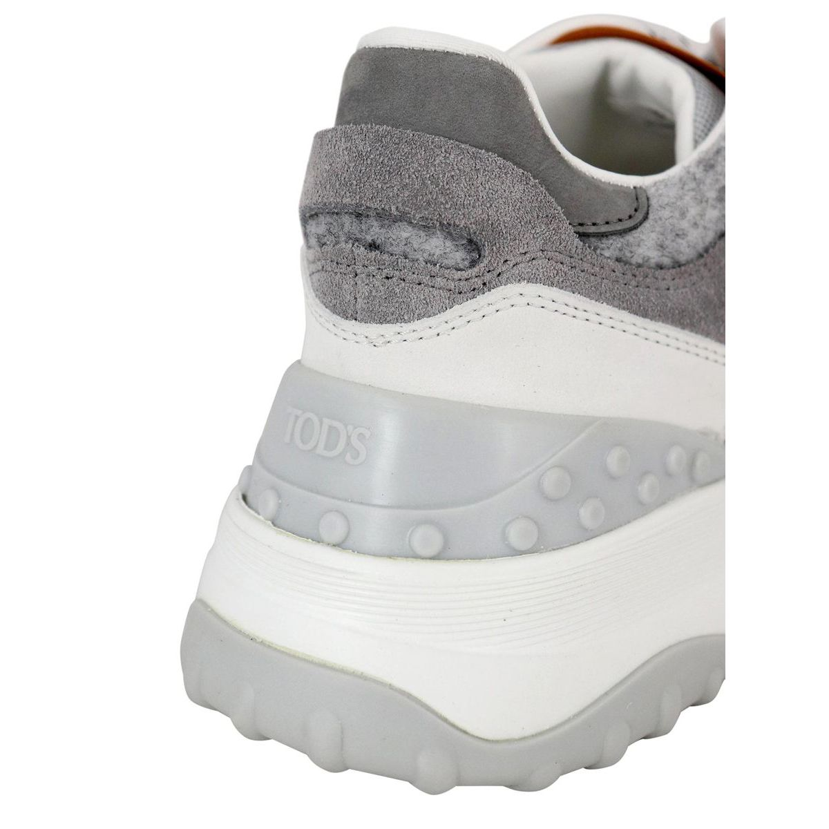 45B sports bottom sneakers White / gray Tod's