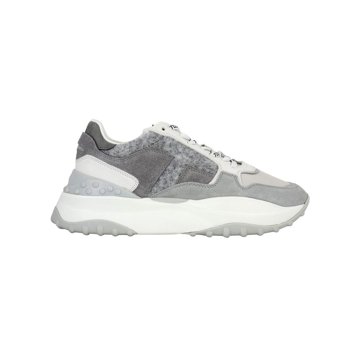 45B sports bottom sneakers White / gray Tod's