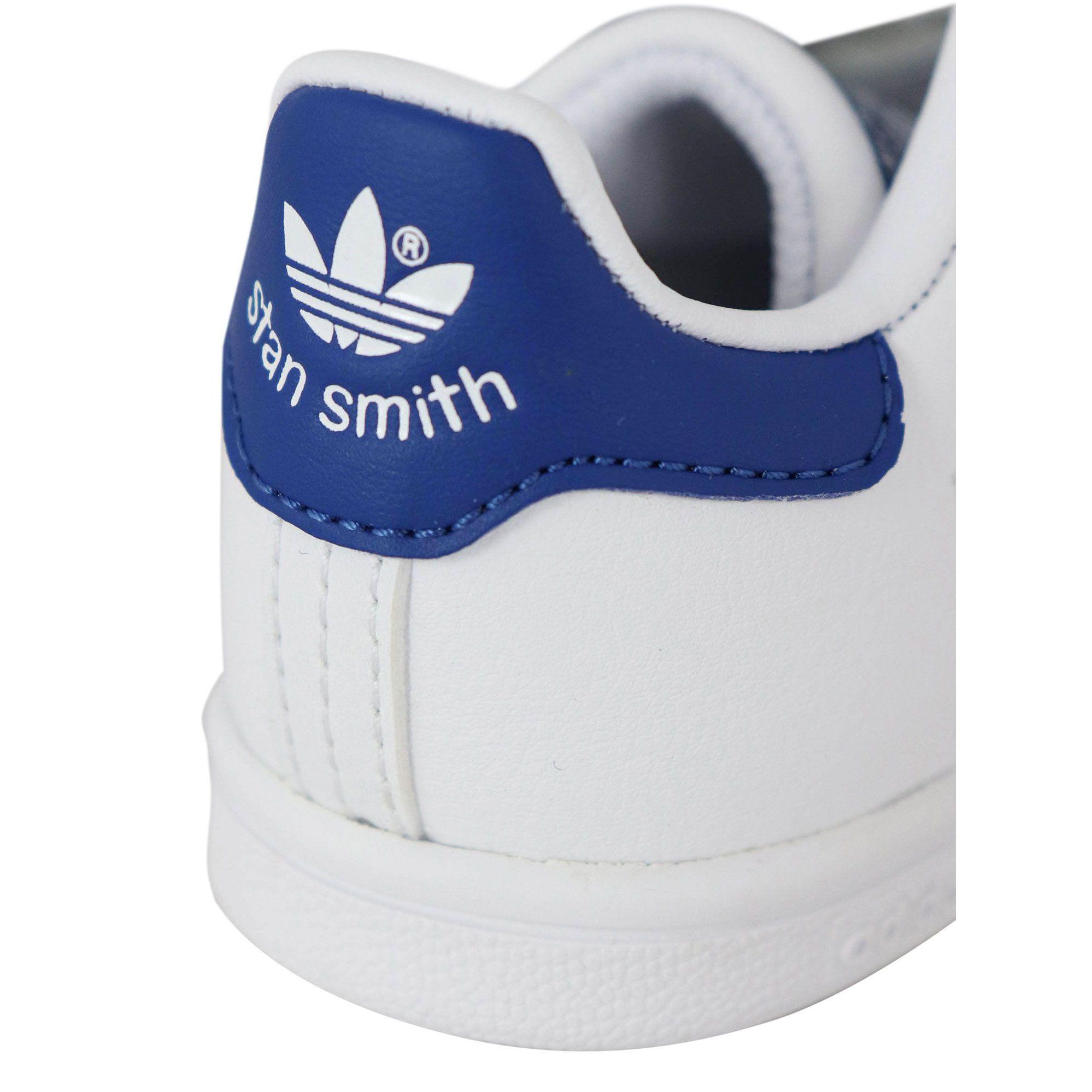 Turnschuhe S74782 STAN SMITH CF Weiß blau, Adidas s74782