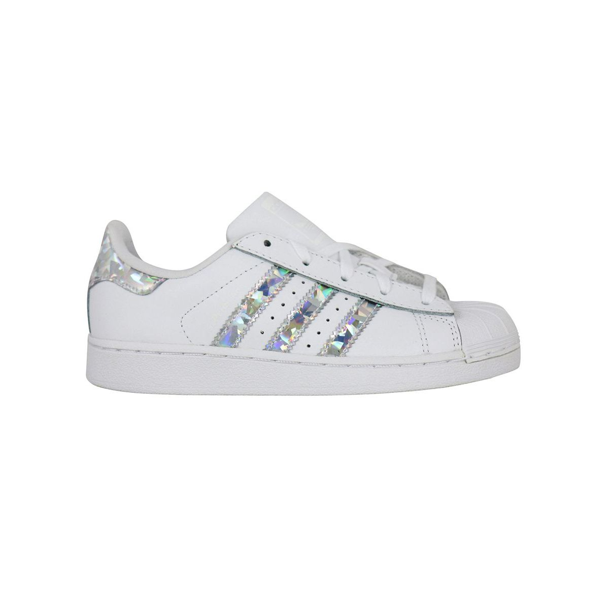 Sneakers CG6708 SUPERSTAR White / silver Adidas