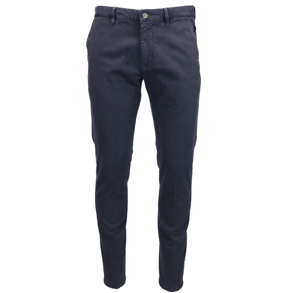 Cotton trousers with america pockets Blue Jeckerson