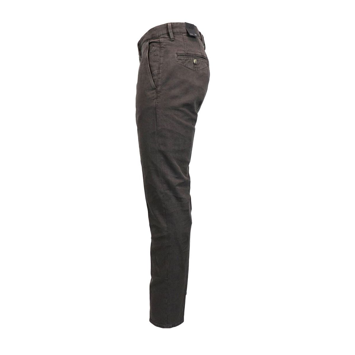 Cotton trousers with america pockets Brown Jeckerson