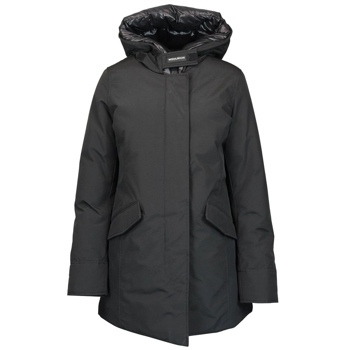 PARKA ARTIC with hood Black Woolrich