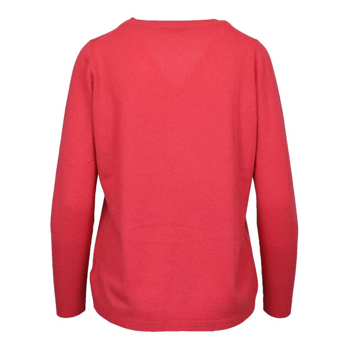 Basic shaved cashmere pullover Strawberry Gran Sasso