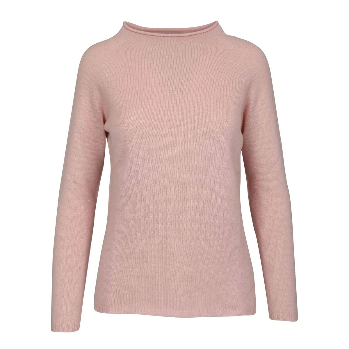 Cashmere sweater with straight neck Rose Gran Sasso