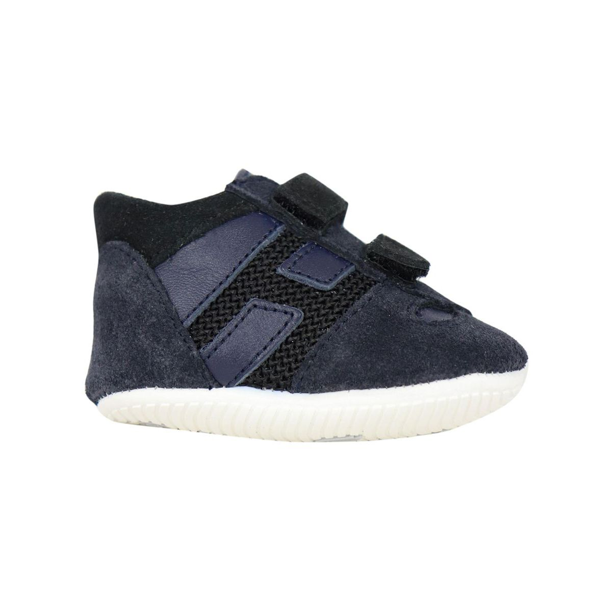 Olympia sneakers with double strap buckles Blue Hogan