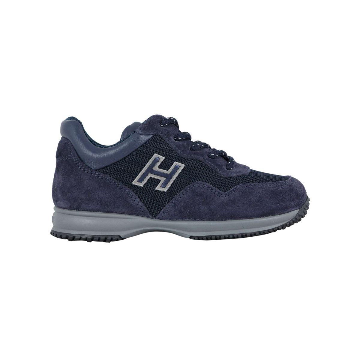 Sneakers INTERACTIVE H + ZIP Blue Hogan