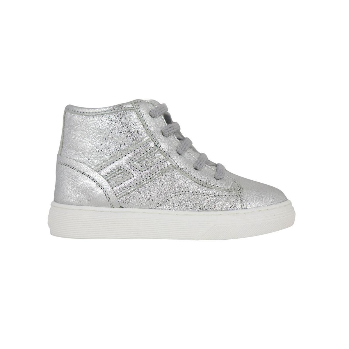 Sneakers Fondo 340 HI TOP Silver Hogan