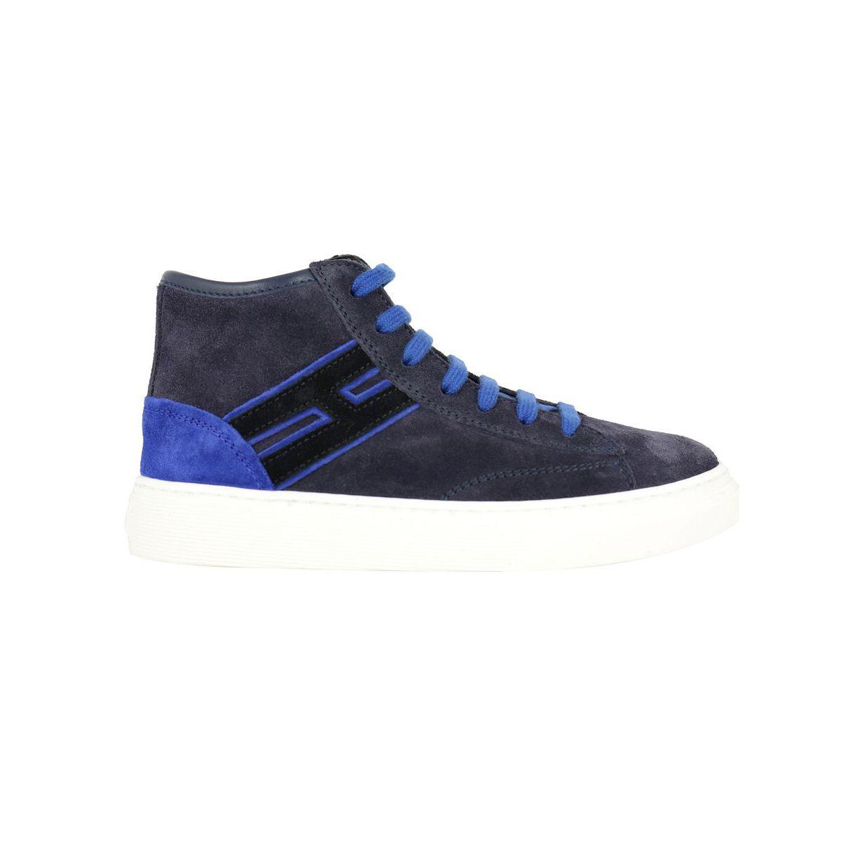 FONDO 340 HI TOP high-top sneakers + lining Blue Hogan