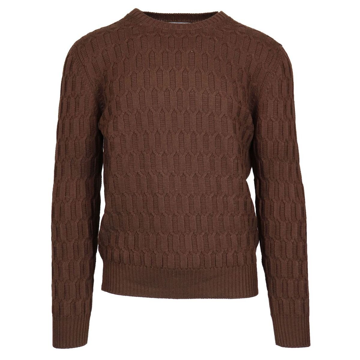 Crewneck wool crewneck pullover Moro Gran Sasso
