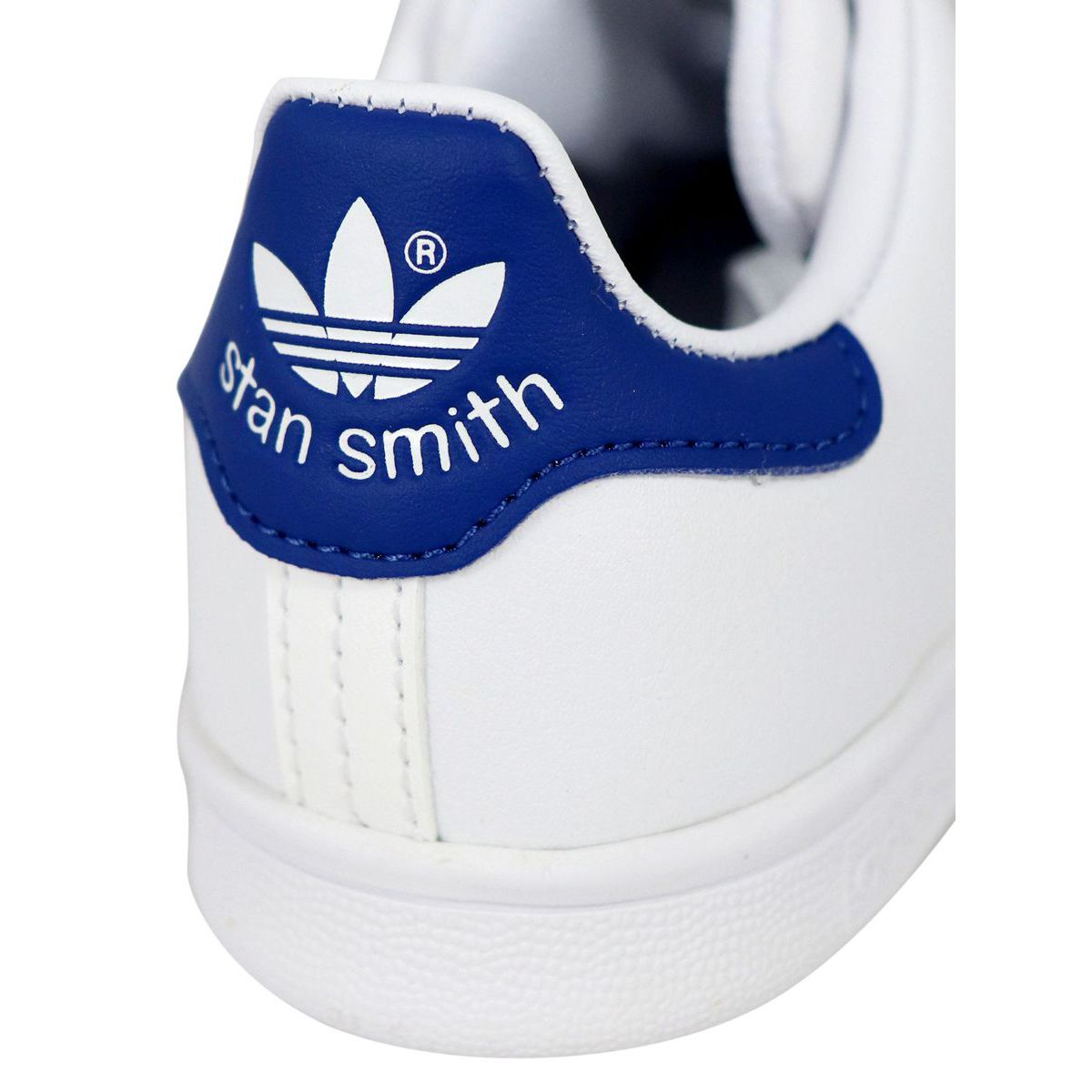 Stan Smith C sneakers in leather with contrasting heel White Adidas