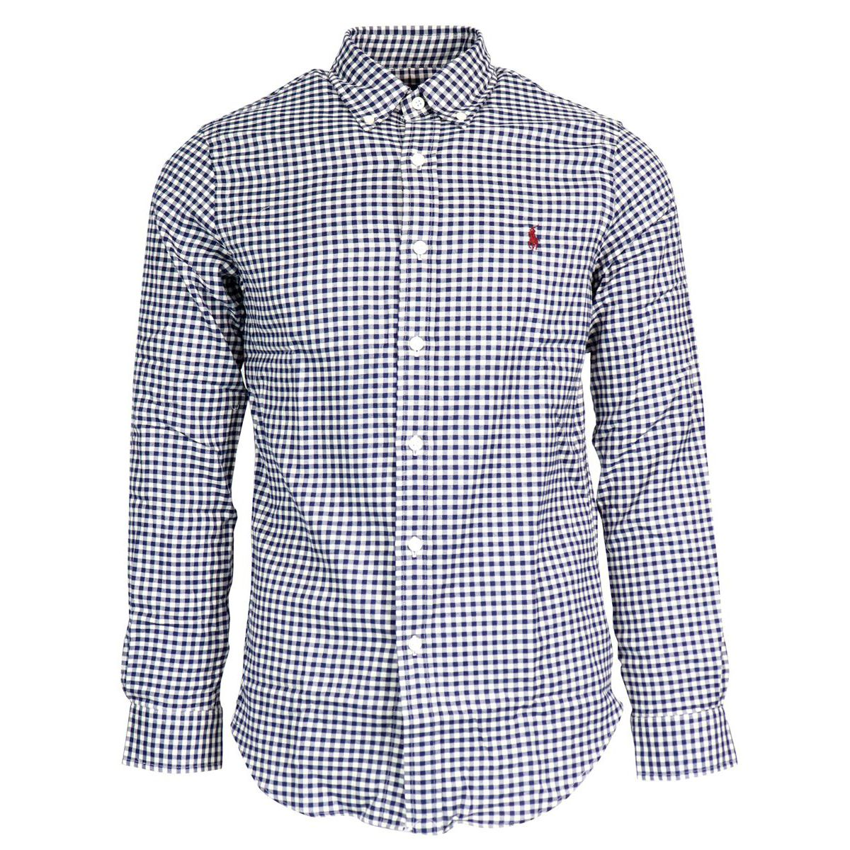 Slim botton down cotton shirt with micro square pattern Heavenly Polo Ralph Lauren