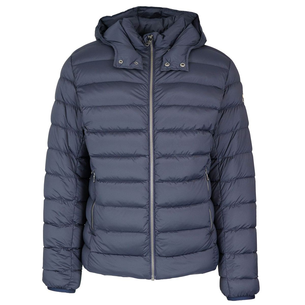 size 40 036bc 39622 Stretch down jacket in opaque fabric with feather padding