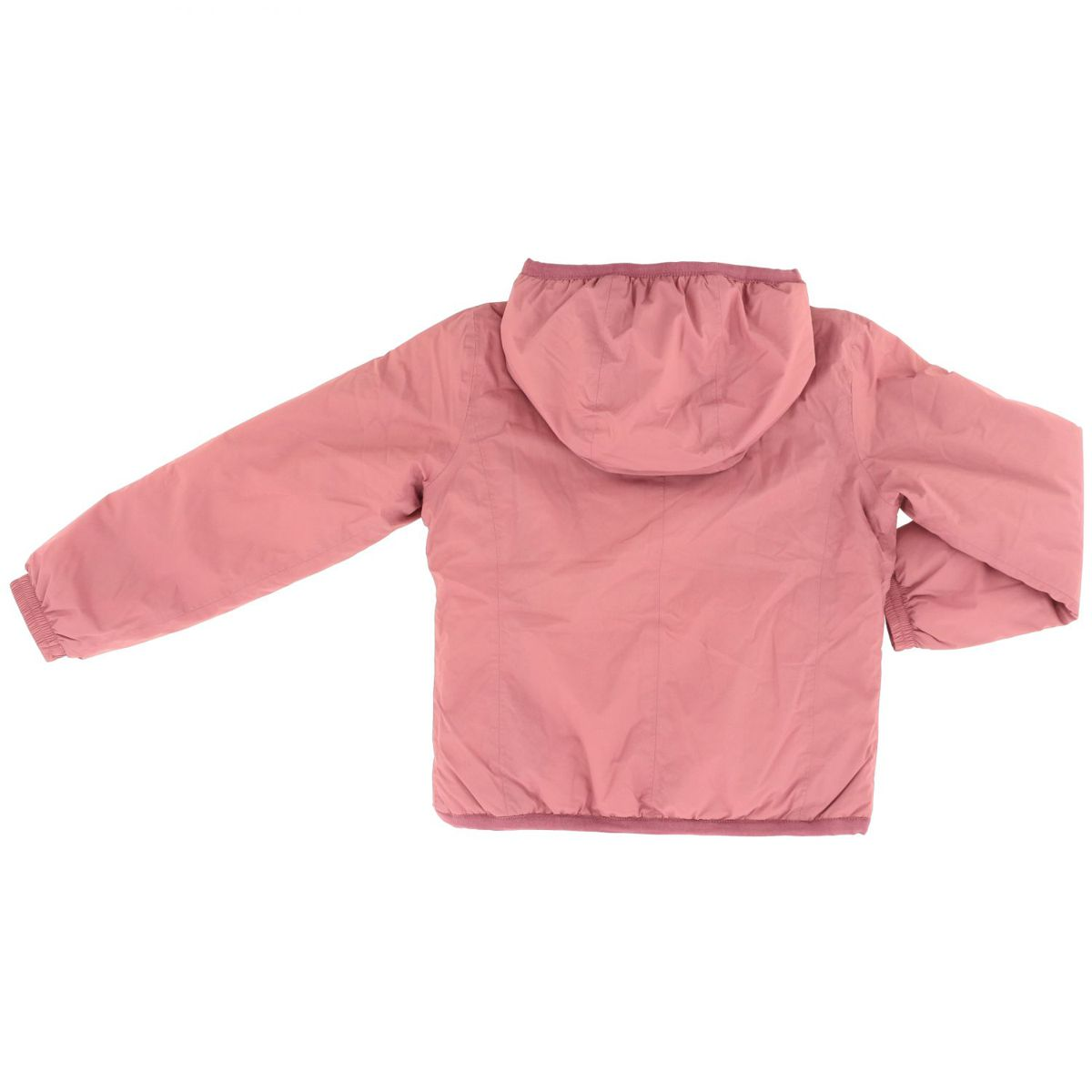 LILY MICRO RIPSTOP jacket with marmot effect inside Rose K-Way