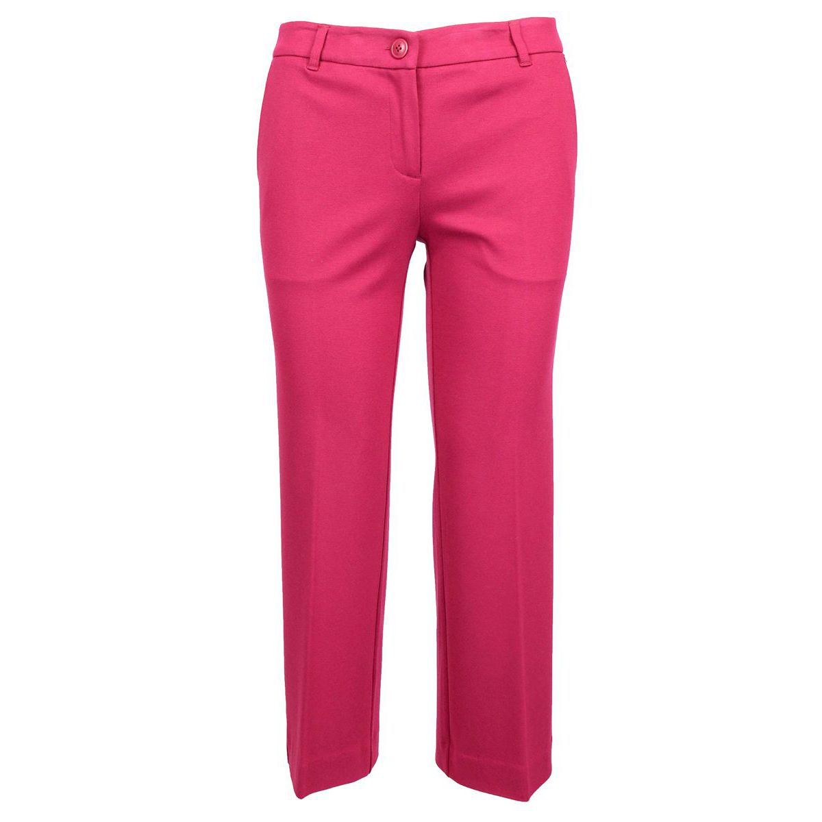 Milan stretch flare trousers with stretched fold Red Twin-Set