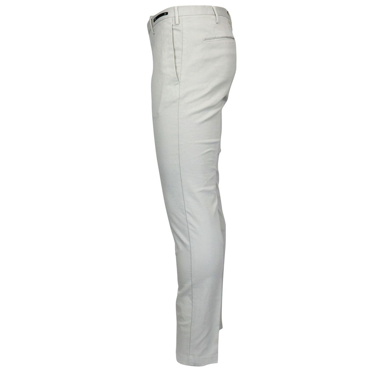 Solid color cotton skinny pants Ice PT01