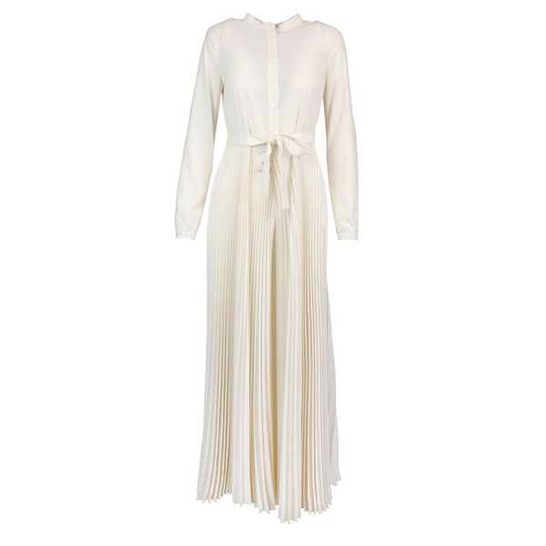 Pleated pants suit White Twin-Set