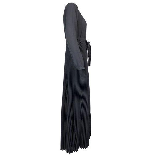 Pleated pants suit Black Twin-Set