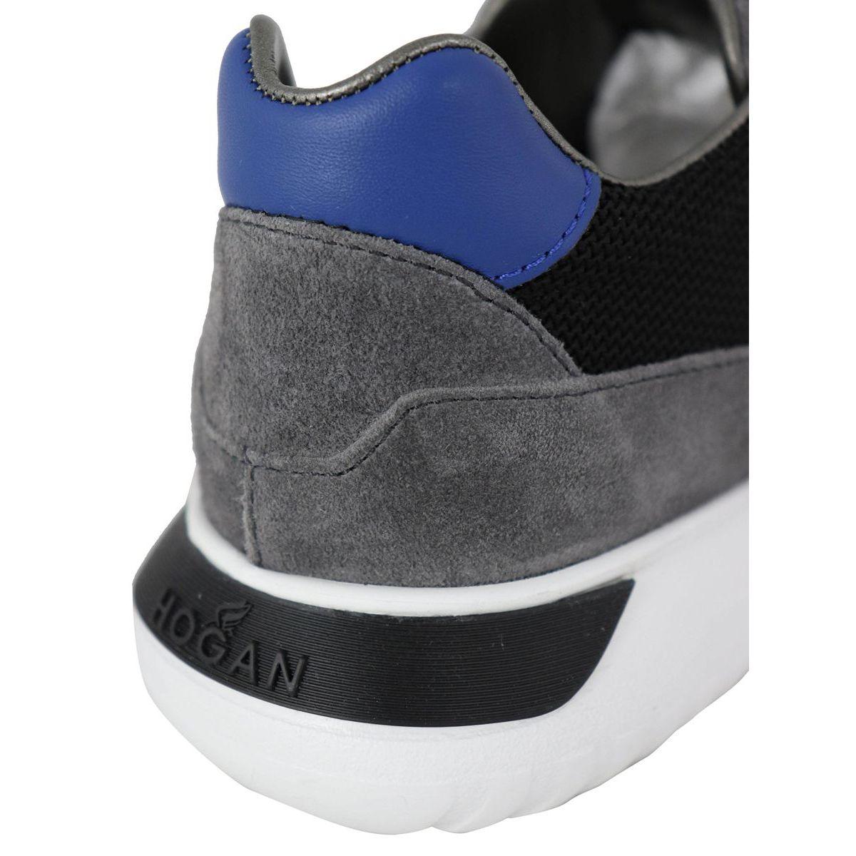 Sneakers INTERACTIVE 3 Gray / blue Hogan