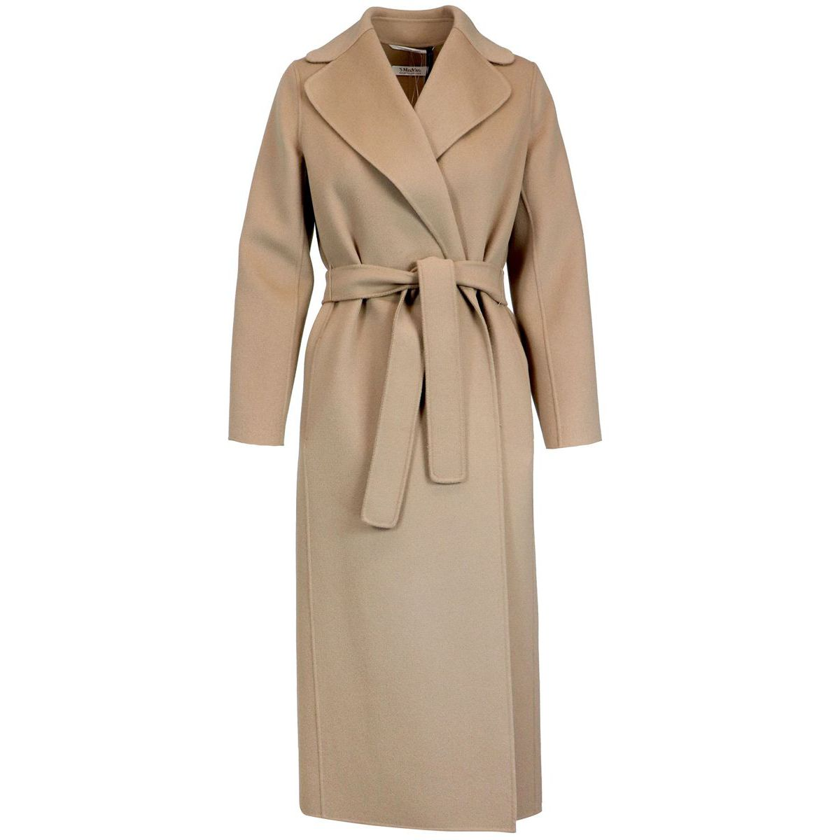 Coat in 100% wool Camel Max Mara