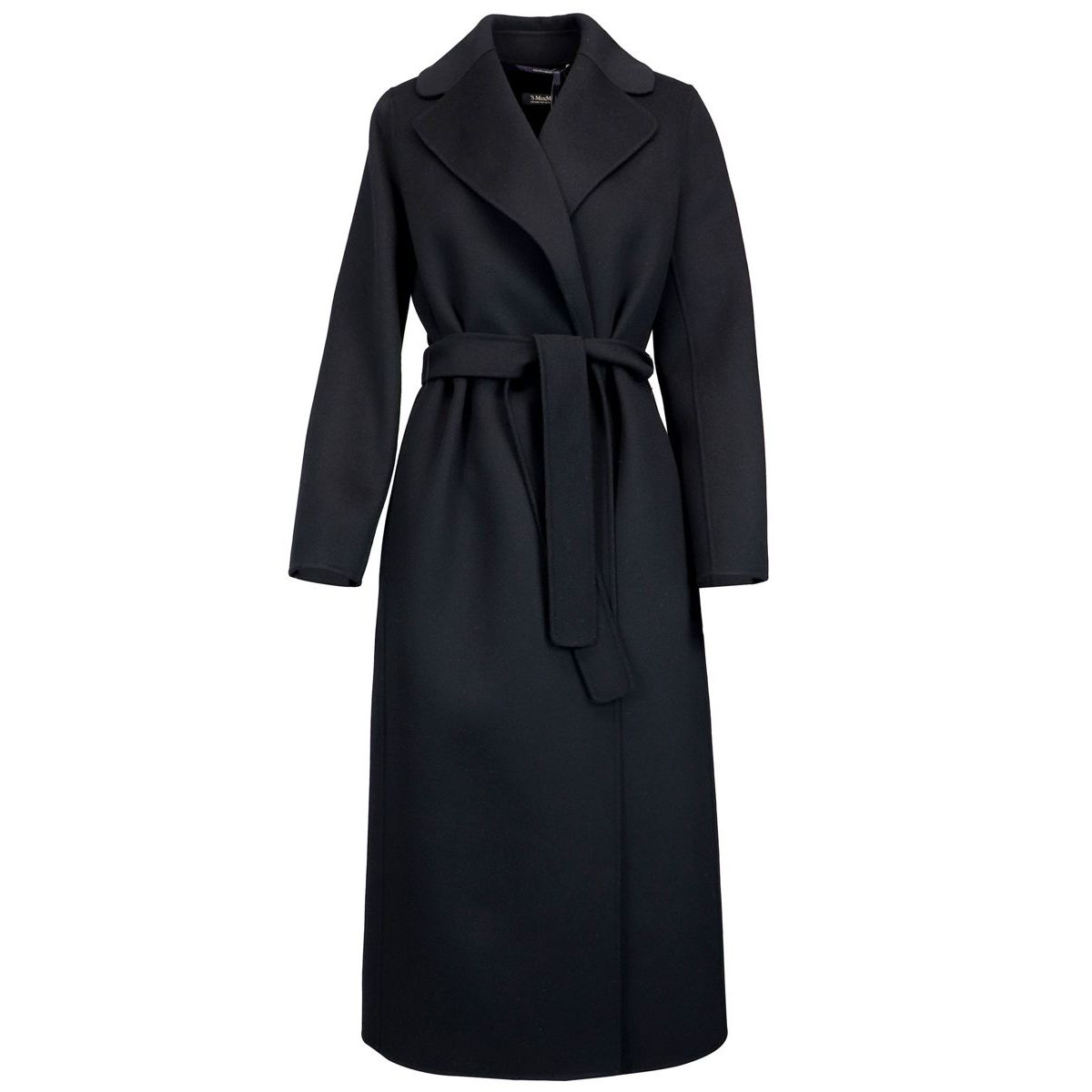 Coat in 100% wool Black Max Mara