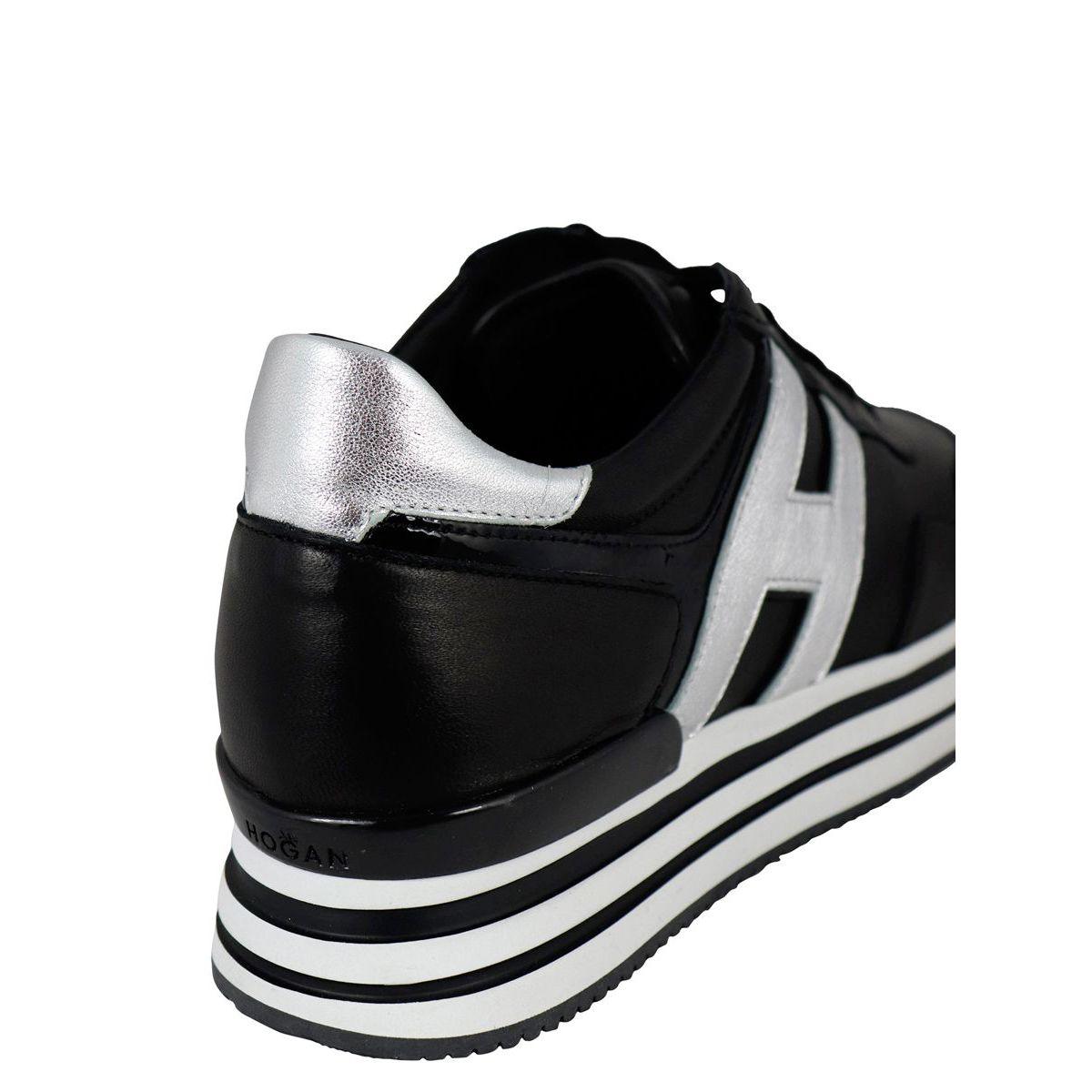 neakers FONDO 483 Black / silver Hogan
