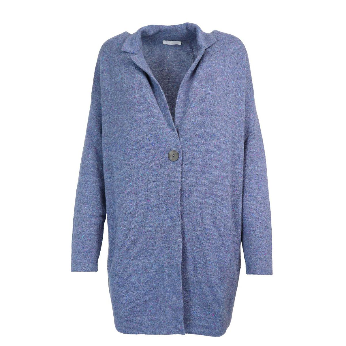 Long cashmere cardigan with button Heavenly Gran Sasso