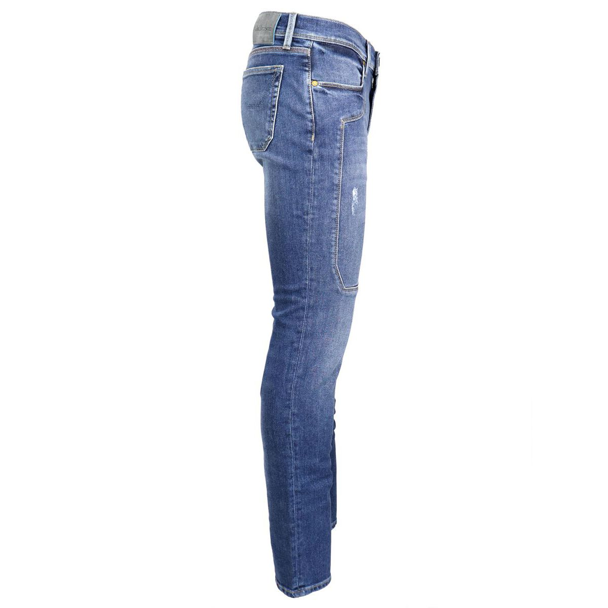 Slim jeans with 5 patch pockets Denim Jeckerson
